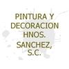 Pintura y Decoración Hnos. Sanchez, S.C.