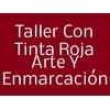 Taller Con Tinta Roja Arte Y Enmarcación