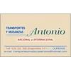 Mudanzas Y Transportes Antonio
