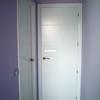 Trabajos varios de carpinteria interior, puerta de paso y rodapie