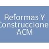 Reformas y Construcciones ACM