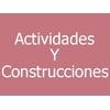 Actividades Y Construcciones