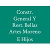 Constr. General Y Rest. Bellas Artes Moreno E Hijos