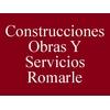 Construcciones Obras Y Servicios Romarle