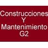 Construcciones Y Mantenimiento G2