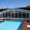 Cerramiento de techo movil para piscina