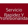 Servicio Rapidez Y Profesionalidad