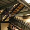Instalacion barandilla aluminio exterior escalera de 9 m