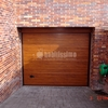 Puerta jardin automatica de aluminio