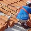 Limpieza de techado y canalones nave industrial y reparación bajante