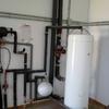 Subir acumulador de agua de las placas solares