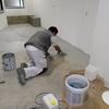 Encimera cocina cemento pulido