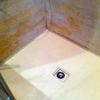 Encimera de microcemento en baño