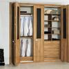 Carpintería de aluminio (frente armario para dormitorio, puertas de interior, ventana y frente mampara para ducha)