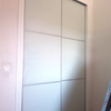 Realizar separacion nueva estancia en pladur con puerta corredera y cristal
