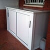 Colocar armario de aluminio en balcon