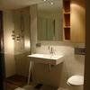 Reforma de baño y aseo manteniendo azulejos
