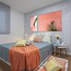 Pintar habitación y poner papel pintado (mitad/mitad)
