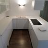Banco almacenaje  cocina en blanco