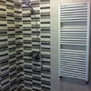 Foto: baños con calefacción toalleros