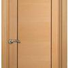 Poner puerta madera color haya con cristalera corredera para cocina