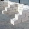 Muro de bloques prefabricados