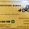 Excavaciones García