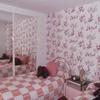 Pintar interior de vivienda una habitación con papel pintado