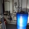 Calefacción y suministro de agua y desagues a toda la vivienda unifamiliar a reformar