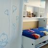 cama pleglable individual escritorio