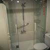 Cambiar bañera por ducha, con mampara