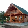 Casa de madera o prefabricada de 80 m2