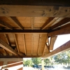 Realizacion de cubierta a dos aguas de panel