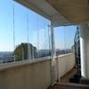 Instalar cortinas de cristal sin perfiles