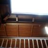 Techar terraza de madera y tejas