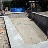Colocacion de piscina de poliester 8x4