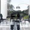 Lacar estanteria, mesa y sillas en color nogal