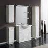 Foto:  Conjunto Mueble de Baño Adelaida 80 cm. Blanco Conjunto Mueble de Baño Adelaida 80 cm. Blanco