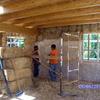 Construcción de casa ecológica