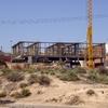 Construcción de vivienda sobre estructura