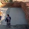 Cimentación del puente de ribadumia pontevedra
