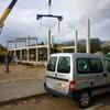 Foto: construcción nave industrial