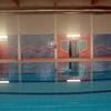 Construcción de piscina cubierta