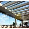 Instalar techo fijo de cristal sobre vigas de aluminio para pérgola exterior de 5 y 2,8 metros actualmente hay vigas de madera y las he quitado