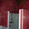Pintado de techo cuarto baño de estuco