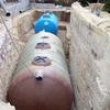 Instalar depuradora de aguas residuales o depósito decantador con biofiltro. 10.000 litros