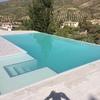 Contruccion piscina desbordante infinity