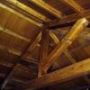 Poner Techo de Madera de 100 m2 en el Patio