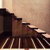 Escalera de madera para