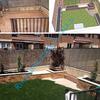Diseño y terminación de jardín